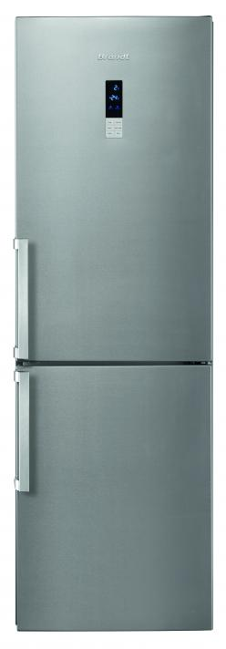 bfc584ynx brandt refrigerater silver closed