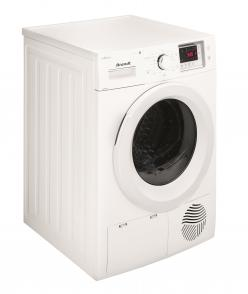 brandt tumble dryer BWD58H2DW side view 8kg